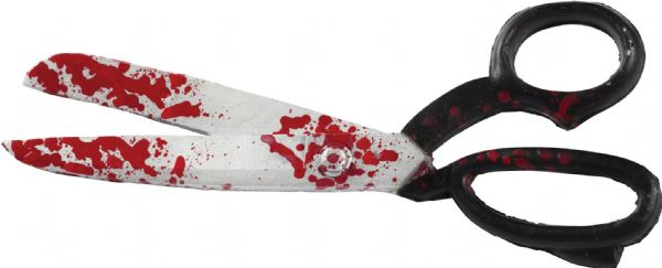 Bloody Scissors Novelty Toy Weapon